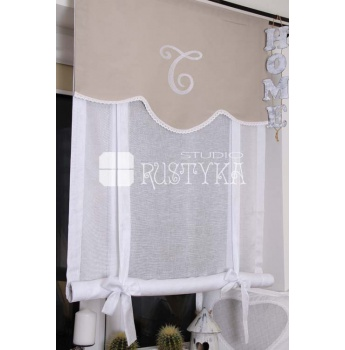 Home Sweet Home Rolety Woal Shabby Chic